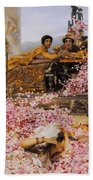 The Roses Of Heliogabalus Hand Towel