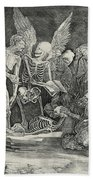 The Skeletons Hand Towel