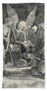 The Skeletons Bath Towel