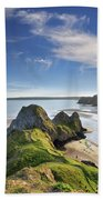 Three Cliffs Bay 5 Hand Towel