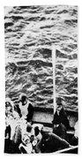 Titanic: Lifeboats, 1912 Bath Towel
