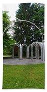 Toledo Botanical Garden Arches Bath Towel