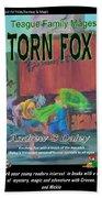 Torn Fox Bath Towel