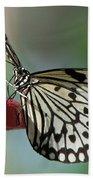 Tree Nymph Butterfly Bath Towel