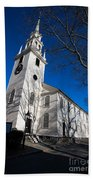 Trinity Church Newport Rhode Island Bath Towel