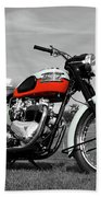 Triumph Bonneville 1959 Bath Towel