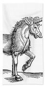 Unicorn, 1607 Bath Towel