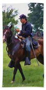 Union Cavalryman Bath Towel