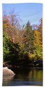 Usa, New York, Adirondack State Park Bath Towel