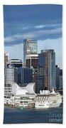 Vancouver Skyline Hand Towel