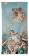 Venus On The Waves Bath Towel