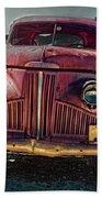 Vintage Studebaker Truck Bath Towel