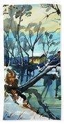 Watercolor3694 Bath Towel