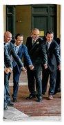 Wedding Men Hand Towel