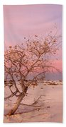 White Sands Sunset 2 Bath Towel