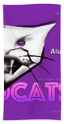Wildcat 90th Anniversary Test Card Hand Towel