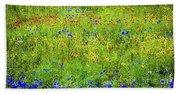 Wildflowers In Bloom Bath Towel