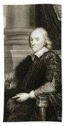 William Harvey, English Physician Bath Towel