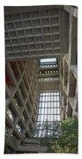 Wilson Hall At Fermilab - Interior Bath Towel