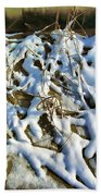 Winter Design Bath Towel