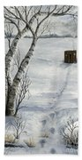 Winter Splendor Bath Towel