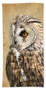 Wise Owl Bath Towel