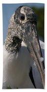 Wood Stork Bath Towel