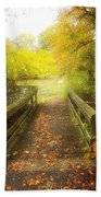 Wooden Bridge Bath Towel