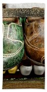 Wooden Shoes Bath Towel