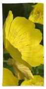 Yellow Evening Primrose Bath Towel