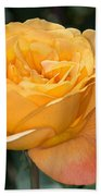 Yellow Rose Bath Towel