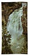 Yellowstone Upper Falls Bath Towel