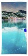 Zaante Town, Zakinthos Greece Bath Towel