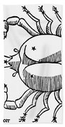 Zodiac: Cancer, 1482 Bath Towel