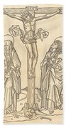 Christ On The Cross Bath Towel