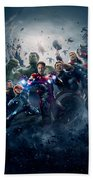 The Avengers Age Of Ultron 2015  Bath Towel