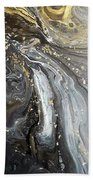 #1006 Gold Waves Hand Towel