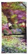 Water Lily Lake Bath Towel