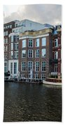 Canals Of Amsterdam Bath Towel