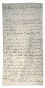 Emancipation Proclamation Bath Towel