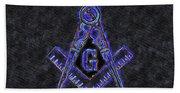 Freemason, Mason, Masonic Symbolism Hand Towel