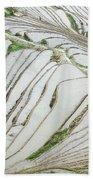 Terrace Fields Scenery In Spring Hand Towel