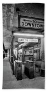 110th Street And Lenox Avenue Station - New York City Bath Towel