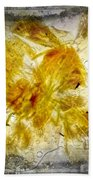 11265 Flower Abstract Series 02 #18 - Carnation 2 Bath Towel