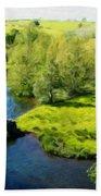 Landscape Definition Nature Bath Towel