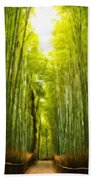 Nature Landscape Work Bath Towel
