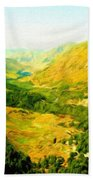 Oil Painting Landscape Pictures Nature Bath Towel