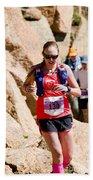 Pikes Peak Marathon And Ascent Bath Towel