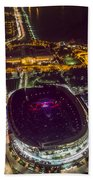 The Grateful Dead At Soldier Field Aerial Photo Bath Towel