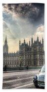 Westminster Bridge London Bath Towel